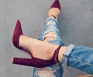 fashion, high, and heels image