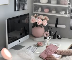 home, pink, and deco image