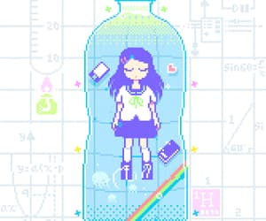 pixel and gif image