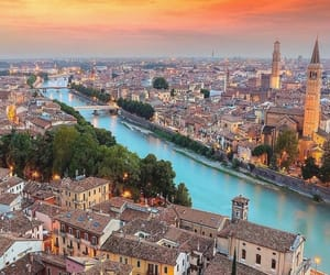 italy, verona, and city image