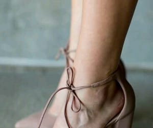 beauty, beige, and feet image