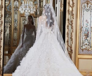 elie saab, wedding, and bridal image