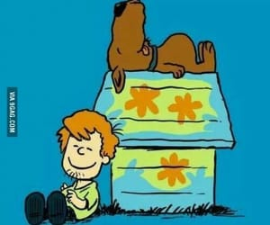 scooby doo, snoopy, and shaggy image