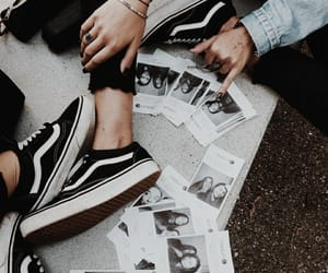 polaroid, tumblr, and vans image