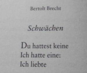 deutsch, zitat, and liebe image