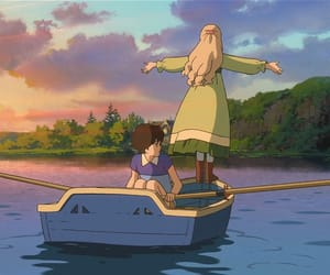 studio ghibli, anime, and when marnie was there image