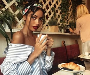 cafe, style, and chic image