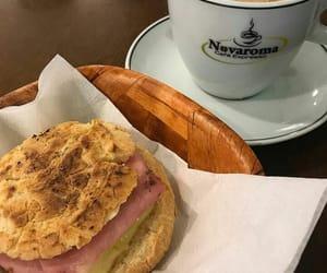 coffee and pão de queijo image