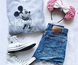 disney land, fashion, and outfit image