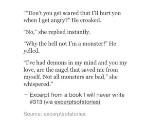 angels, angry, and monsters image