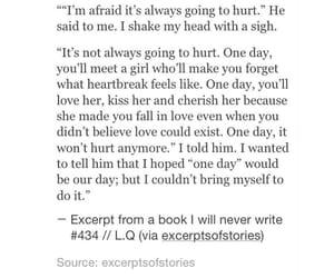 heartbreak, hurt, and quote image