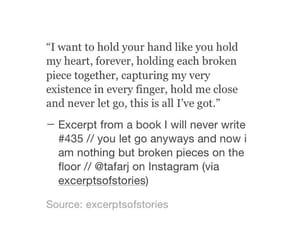 broken, heart, and poetry image