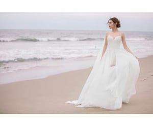 beautifull, girl, and wedding image