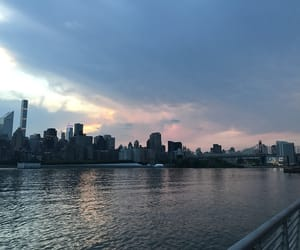 blue, nyc, and pink image