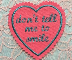 pink, quotes, and smile image