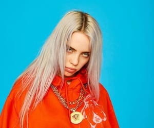 billie eilish, billie, and blue image