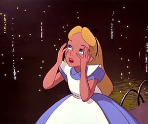 gif and alice in wonderand image