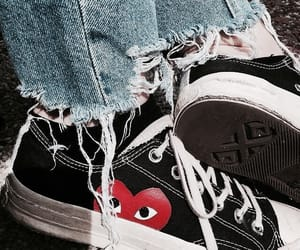 shoes, converse, and grunge image