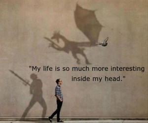 head, interesting, and life image