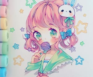 art, drawing, and cute image