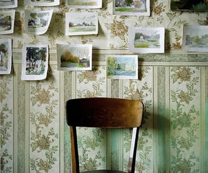 chair, vintage, and photo image