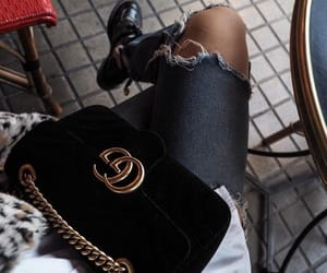 bags, chic, and gucci image