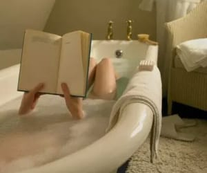 book, relax, and bath image