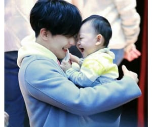 btob, minhyuk, and baby image