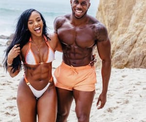 abs, beach, and couple image