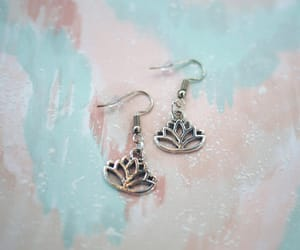 etsy, hippie jewelry, and hippie earrings image