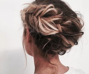 beauty, braid, and classy image