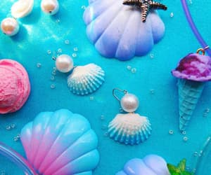 mermaids, mermaids style, and shell image