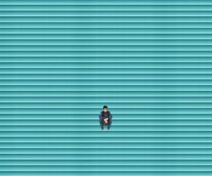 blue, photography, and minimalism image