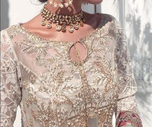 bride, pakistan, and wedding image