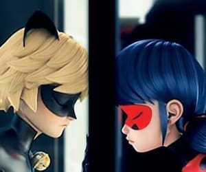 ladybug, miraculous, and Chat Noir image