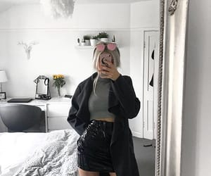 black, clothes, and fancy image