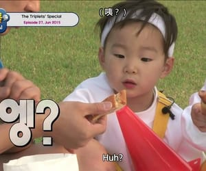baby, manse, and triplets image