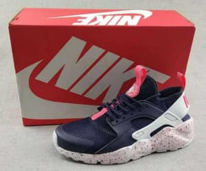 Nike Air Huarache Womens Black Navy Speckled Pink