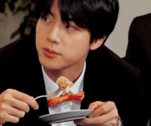 gif, bts, and jin image