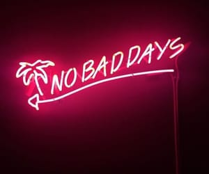 neon, light, and quotes image