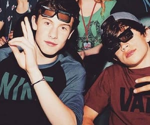 hayes grier, shawn mendes, and hayes image