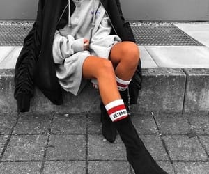fashion, style, and hoodie image