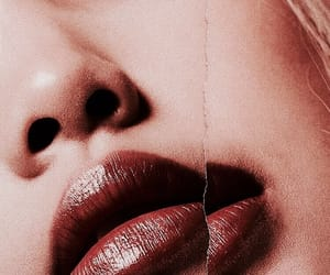 indie, lips, and lipstick image