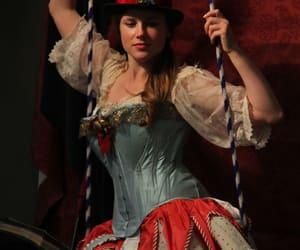 circus and girl image