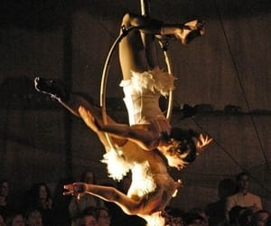 circus, girls, and Swan image