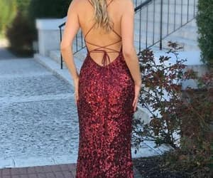 backless prom dress, prom shopping, and prom season image