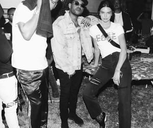 kendall jenner, the weeknd, and coachella image