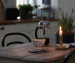coffee, cozy, and candle image