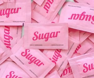 pink, sugar, and aesthetic image