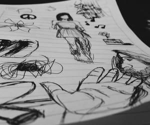 blanco, dibujos, and draw image